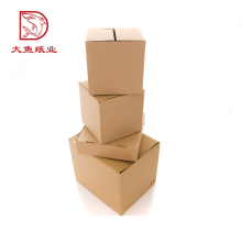 Bas prix des fabricants boîte de papier dur ondulé personnalisé