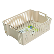 9509 PP plastic Overlay storage baskets