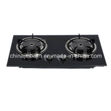 2 Burners Infrared Tempered Glass Top Built-in Hob/Gas Hob