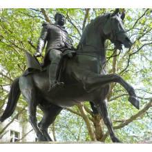 2015 hochwertige Bronze Krieger Pferd Statue zum Verkauf