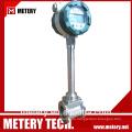 Wenig Druckverlust Vortex Durchflussmesser Metery Tech.China