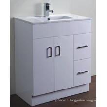 Современная сантехника глянцевый Белый МДФ Тщеты ванной комнаты (АВ-75м)