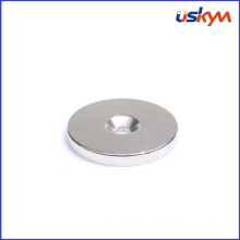 Custom Countersunk Ring - Neodymium Rare Earth Magnet