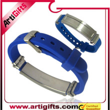 Wholesale brazalete de germanio de acero inoxidable