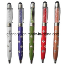 Popular! Mini caneta stylus de cristal como promoção (lt-y024)