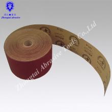 Rollo de papel de arena barato y de buena calidad 10 cm * 50 m para la decoración, lima de uñas, fallas en los pies, pintura