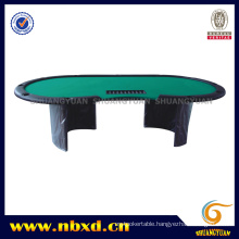 Poker Table for 11 Person with Wooden Leg (SY-T18)