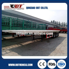 40ft container truck semi trailer for contain and van box