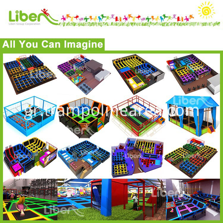 Design of indoor trampoline park