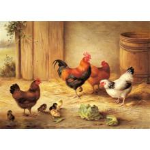 Pintado à Mão Pintura Animal Decorativa Animal
