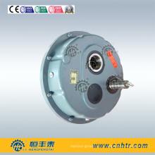 Redutor de engrenagens montado no eixo de transmissão de potência para redução de velocidade