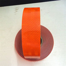 PVC+Pet Orange Reflective Tape for Road Safety