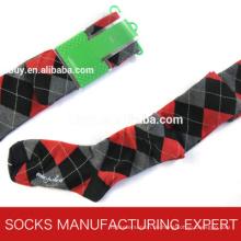 100% Baumwolle der Frau Coloful Tube Sock (UBM1055)