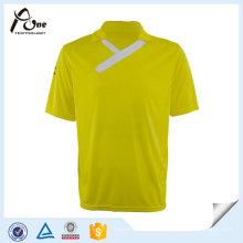T-shirt do esporte do polo dos homens do clube do f