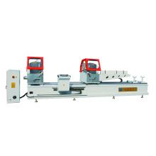 Sierra de corte de aluminio de precisión de doble cabezal CNC