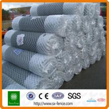 pvc coated metal chain link fence/fencing