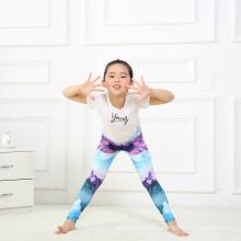 Customize Print Milk Silk Yoga Pants Kids Leggings