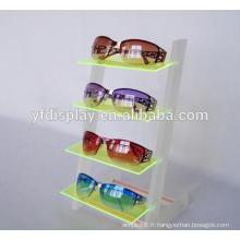 porte-afficheur de lunettes/lunettes de soleil en plastique de haute qualité