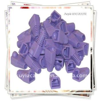 Bottes RJ45 Purple Strain Relief