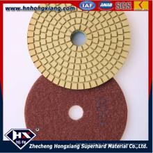 4''wet Diamant Polierpads für Betonboden und Granit