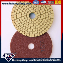 4′′wet Diamond Polishing Pads for Concrete Floor and Granite