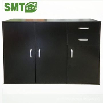 Customized color weifang home 3 Doors 2 Drawers furniture cabinet