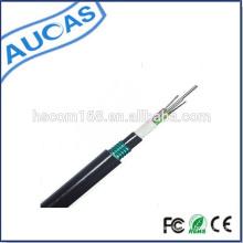 Cable de fibra óptica de un solo modo / cable de fibra óptica blindado al aire libre / cable de fibra óptica al aire libre de la capa