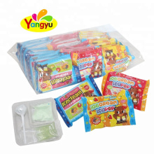 3 In 1 Candy Bags Lollipop With Jam Candy And Sour Powder