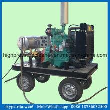 Alta pressão 7250 psi superfície arruela tinta remover limpeza equipamentos