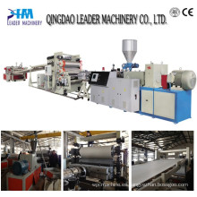 Línea de producción de placa / placa de PVC de espuma Máquina de placa de plástico