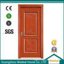 Porte intérieure classique chinoise peinte de noyau solide de forces de défense principale
