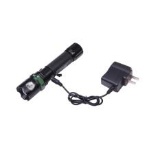 Drehende Fokussierung Zoom Lumen Aluminium LED Taschenlampe (S27)