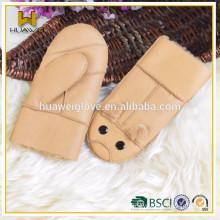 gloves mittens kids winter fashion leather mittens