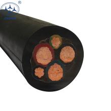 CE approuvé 4 noyau 6mm flexible yc caoutchouc câble h07rn-f 3g1.5 prix en kiljara