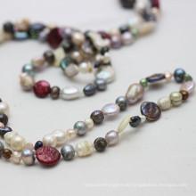 Barock Perle Mode Lange Halskette Schmuck (E190025)