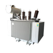 Estação de transformador de potência imersa em óleo