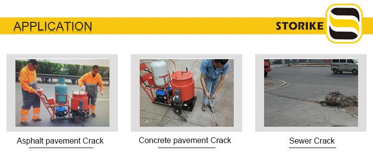 crack sealing machiner