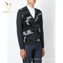 Cardigan militaire hommes 2016 nouveau style cardigan pour hommes de haute qualité cardigan chandail pour hommes