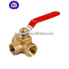 3-way Brass Ball Valve