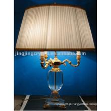 Home Goods lâmpada de mesa de cristal