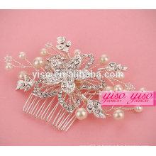 Penteado de cristal promovente da tiara para meninas
