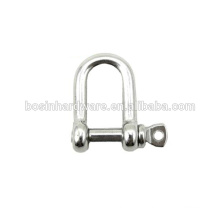 Fashion High Quality Metal Small Stainless Steel Shackles