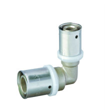 Raccord de presse pour coude pour tuyau multicouche