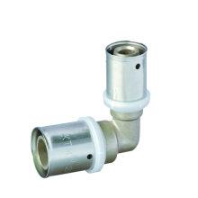 Пресс-фитинг локтевого для многослойной трубы