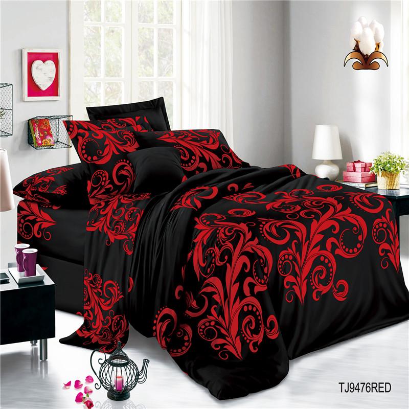 Print Polyester Bed Sets Sheets