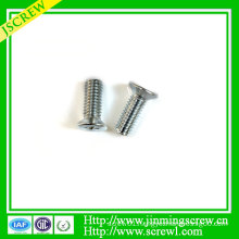 Cross Recessed Countersunk Head Machine Screw
