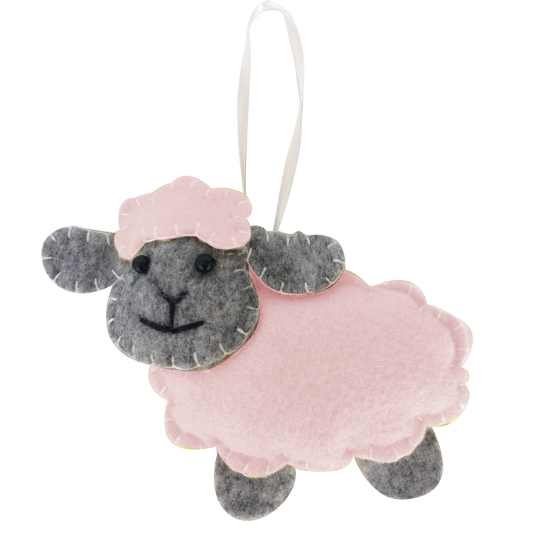 Easter Sheep Shape Hanging Ornaments