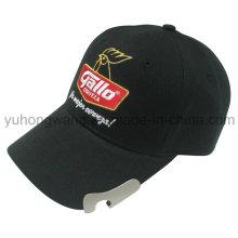 Boné de beisebol personalizado, chapéu de esportes Snapback com abridor de garrafas