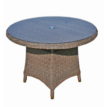 Patio Round Wicker Garden Outdoor Rattan Furniture Dining Table