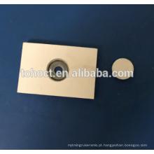 Alumina Al2O3 ZTA Zirconia cerâmico De Solda telha cerâmica tijolo tampa cerâmica com ponteira matal